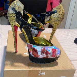 Christian Louboutin trash heels